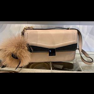 New ! Celine Dion Back and Beige Handbag